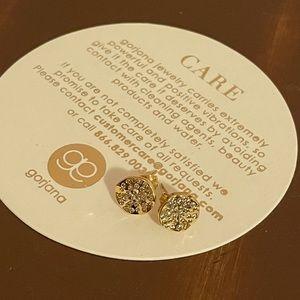 Gorjana Gold Plated Studded Earrings